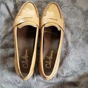 Cole Haan Tan Patent Loafers 7